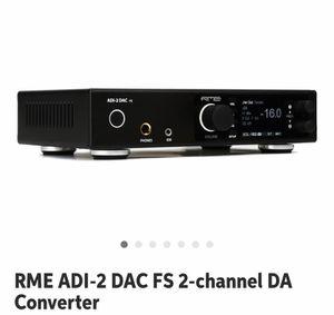 RME ADI-2 DAC FS - Recording Interface for Sale in Alexandria, VA