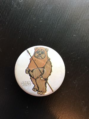 Vintage Ewok button (pin) for Sale in Modesto, CA