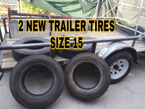 2 NEW TRAILER TIRES for Sale in Las Vegas, NV