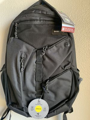 Brand new Swisstech backpack color black for Sale in Perris, CA