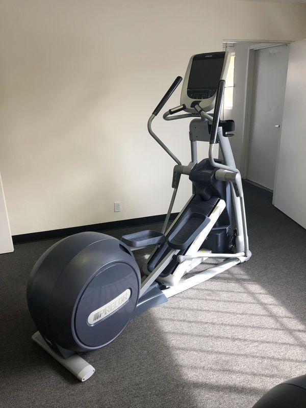 Precor EFX 885 Elliptical Cross trainer w/ p80 Console, gym