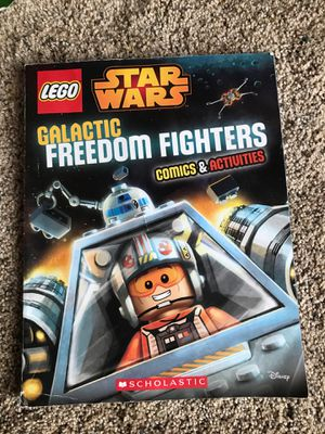 Lego Star Wars Galactic freedom fighters Comics & Activities for Sale in New London, MO