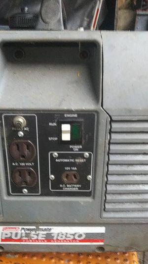 Coleman powermate plus 1850 portable generator for Sale in East Haven, CT