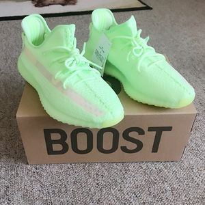 Yeezy 350 boost glow in the dark shoes for Sale in Southwest Ranches, FL