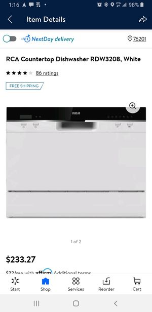 RCA Countertop dishwasher for Sale in Denton, TX