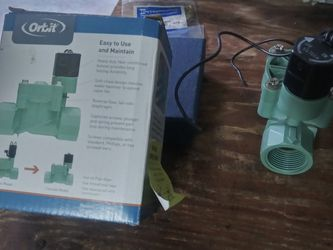 three items together sprinkler timer valve and wood pianting for Sale in Lake Worth,  FL