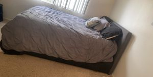 Queen Bed Frame Only for Sale for Sale in Fontana, CA