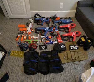 NERF GUN COLLECTION for Sale in Batsto, NJ