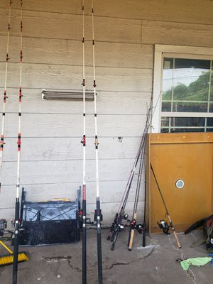 fishing rods for Sale in Dallas, TX