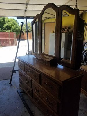 California King bedroom set . $100.OBO for Sale in Chino Hills, CA