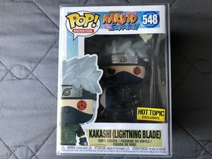 Funko Pop Naruto Kakashi Lightning Blade Vinyl figure toy for Sale in Los Banos, CA