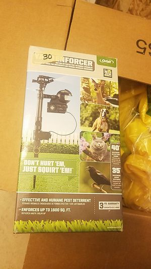 Orbit 62100 Yard Enforcer Motion-Activated Sprinkler with Day & Night Detection Modes for Sale in Corona, CA