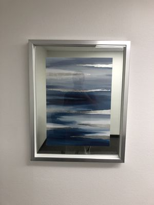 Mirrored Blue and White Wall Art for Sale in Newport Beach, CA