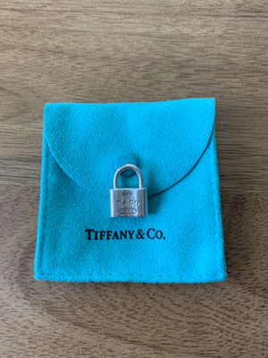 Tiffany & Co. 1837 Padlock Pendant for Sale in Livermore, CA