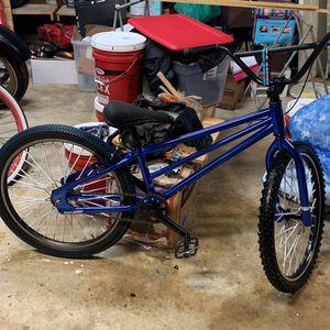 Blue Chrome Thruster 24inch BMX Wheelie Bike for Sale in Riverbank, CA