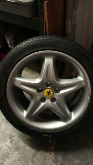 Ferrari 550 rim and tire. for Sale in Newport Beach, CA