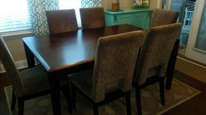 Dining Room Table/Upholstered Chairs for Sale in Foley, AL