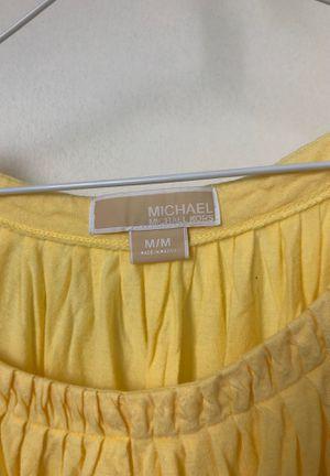 Michael Kors Medium Yellow Shirt for Sale in Pittsburgh, PA