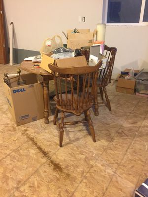 Table and 4 chairs for Sale in Bonney Lake, WA