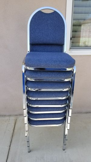 (8) STACKABLE CHAIRS!! for Sale in Upland, CA