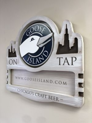 Goose Island Wood Sign for Sale in Fort Myers, FL