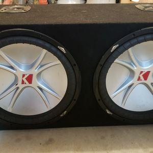 Kicker Cvr 15 Inch Amp for Sale in Milton, FL