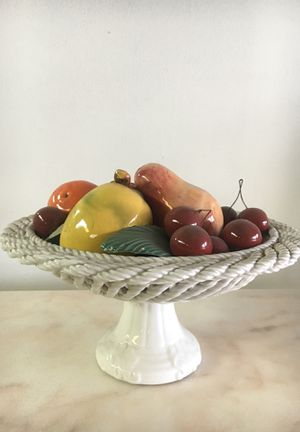 Italian ceramic fruit stand for Sale in Los Angeles, CA