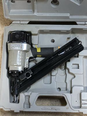 Porter Cable finish nailer for Sale in Puyallup, WA
