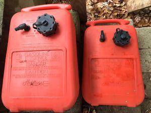 6 gallon portable gas tanks $20 each for Sale in Suffolk, VA