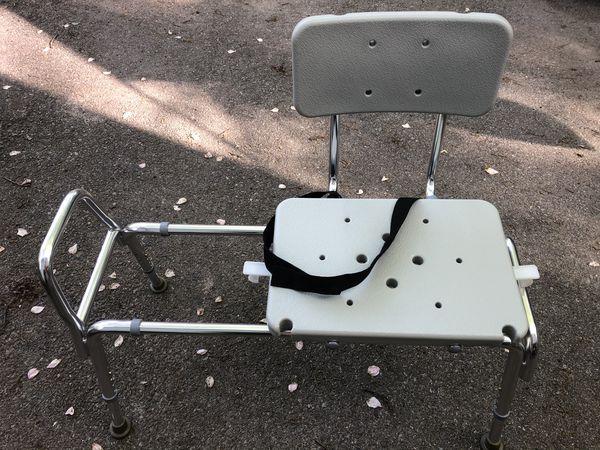 Sliding Shower Chair