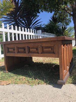 Mid century vintage coffee table- solid wood for Sale in Garden Grove, CA