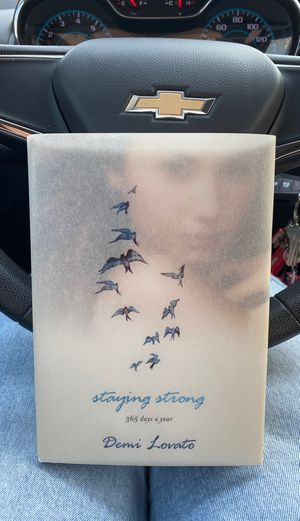 """Demi Lovato's """"Staying Strong"""" book for Sale in Kingsburg, CA"""