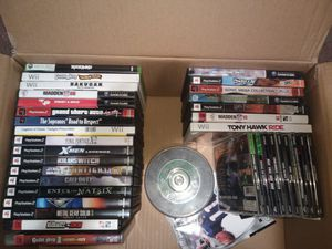 Mixed lot of video games for Sale in Norfolk, VA
