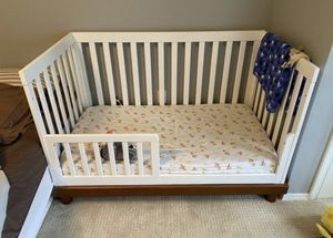 "Baby Mod ""Olivia"" 3-in-1 Crib + Toddler Rail Conversion Kit for Sale in West Linn, OR"