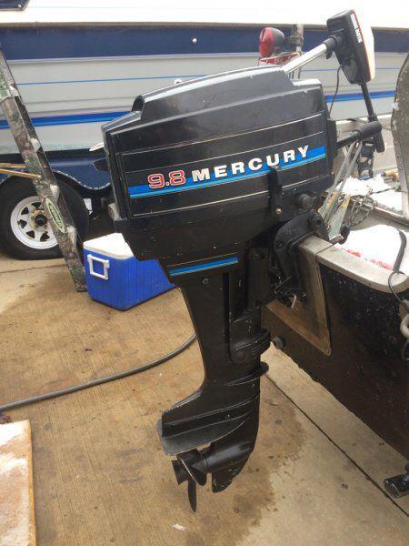 9.8 mercury outboard motor