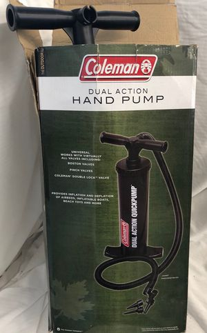 Coleman Hand Pump-$10.00 for Sale in Omaha, NE