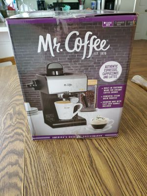Mr coffee expresso Cappuccino maker for Sale in Rocky Mount, NC
