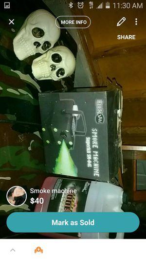 Smoke machine for Sale for sale  Dallas, GA