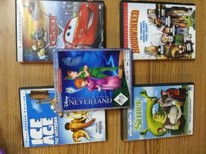 KIDS FUN MOVIES 5 DVDS + 1 BLU-RAY for Sale in Cotati, CA