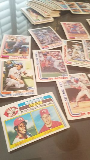About 100 1982 topps baseball cards in incredible condition for Sale in Scottsdale, AZ