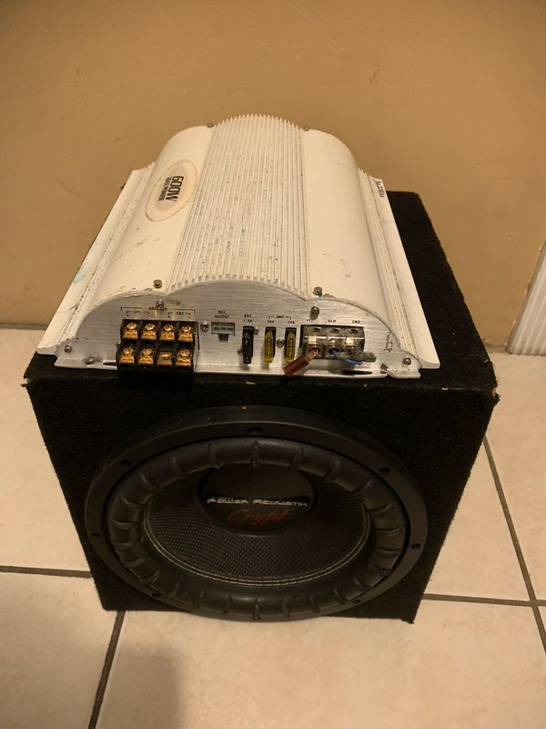 "Speaker 10"" and amp"