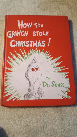 How the Grinch stole Christmas, Dr. Seuss for Sale in Milwaukee, WI