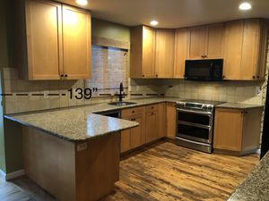 Maple shaker kitchen cabinets and granite countertops for Sale in Farmingdale, NY