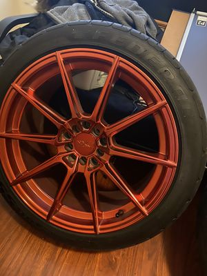 XXR Candy red 18x5 for Sale in Gulfport, MS