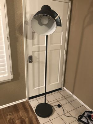Modern industrial floor lamp for Sale in Mission Viejo, CA