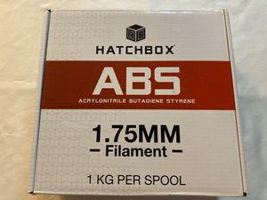 Hatchbox ABS 3D printer filament 1kg spook true white for Sale in Cumming, GA