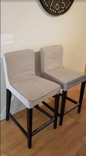 2 Ikea barstool for Sale in Oakton, VA