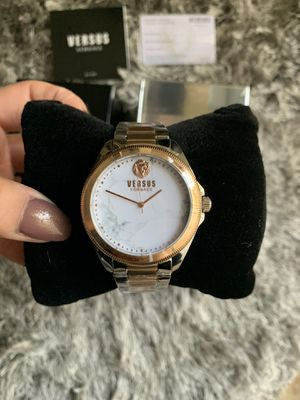 Rose Gold Stainless Steel Versace Watch for Sale in Downey, CA