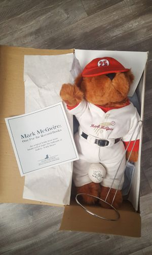 1999 Mark McGwire Collectible for Sale in Fontana, CA