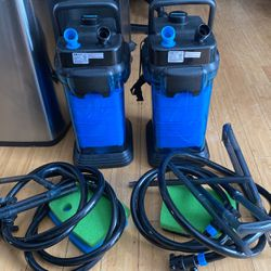 2 Units Of Pen-Plax Cascade 1200 Canister Filter For Aquariums Up To 150 Gallons for Sale in Frederick,  MD
